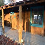 Walton Cabin Front Porch