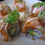 Aburi Salmon roll