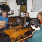 Irische Live-Music im Pub nebenan.