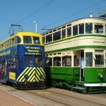 Some old trams