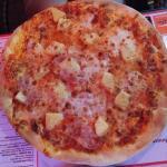 Andorreando pizza Hawai