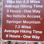 sign at beginning of hike from Top of Falls parking lot