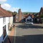 View from room, Alfriston