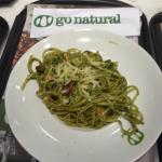 Massa ao pesto
