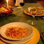 Cena: Entrada de Spaghetti