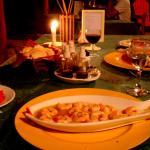 Cena: Camarones