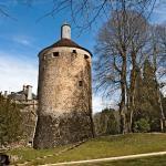 Promenade dans le parc du château de Chastellux