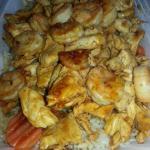 Chicken & shrimp combo