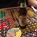 So many bottle caps!