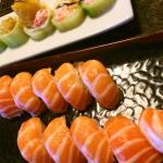 Salmon Belly and Johnny roll