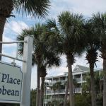 Gulf Place beach frontage