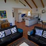 Blue Cottage living area