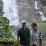 With Mr Noom on our trip to Doi Inthanon National Park