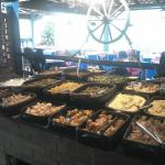 Pratos disponiveis para refeições