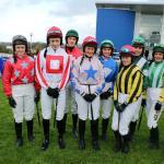 UK v Ireland Jockey Challenge at Limerick Racecourse