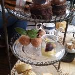 Some of the Delicious cakes from the Afternoon Tea
