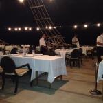 dîner sur bateau
