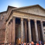 The Pantheon is a must see.