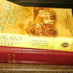 Hindu book & The Bible complimentary