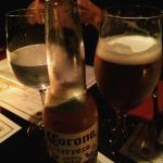 cerveza corona y tirada