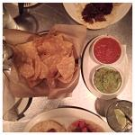 chips salsa and guacamole