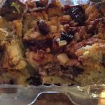 Cinammon bread pudding to go