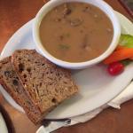 Spicy mushroom w/beef soup
