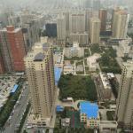 西安 Xi'an TV Tower, nice view for 70RMB