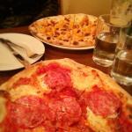 Butternut & Speck pizzas