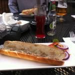 Chicken Liver Pate Sandwich