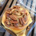 Cinnamon sticky bun!