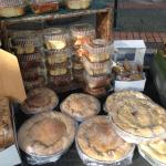 Pies and bread and rolls, oh my!!!