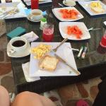 Desayuno, muy completo