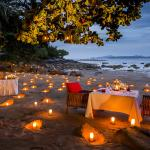 Paresa's Romantic Beach Dining