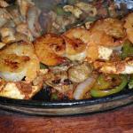 Fajita Mi Pueblo Especial Mexican Sausage, Shrimp, Steak, and Chicken