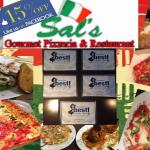 Mention this Ad if it's your first time at Sal's for 15% OFF