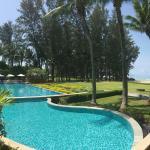 Swimming pool, Dust Thani Hotel, Krabi