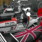 Our B&B guests visit Bridlington for the Scooter Rally 2015