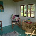 Our 'Summer House' is a great hideaway in all seasons.