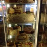 Some yummy cakes at the Bay Tree