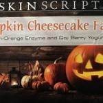 Pumpkin Cheesecake Facial