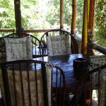 Bamboo House terrace