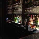 Gut ausgestattete Bar!