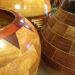 Amazing and gorgeous! Segmented wooden bowls made right here in Blairsville, GA!