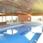 Heated indoor pool, spa and sauna
