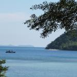 The view to neighbouring and tiny Koh Rayang island.