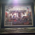 Picture Hanging inside Paradise Country Bar-B-Que