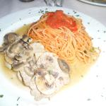 veal with pasta