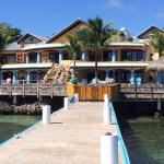 Caribe Tesoro from the pier