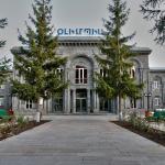 Фасад санатория Олимпия